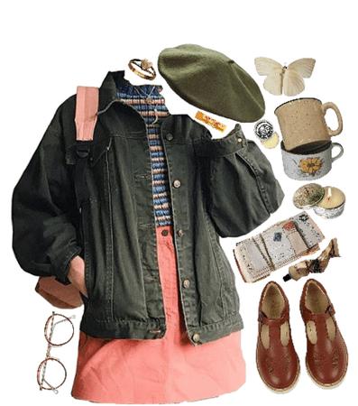 beret girl