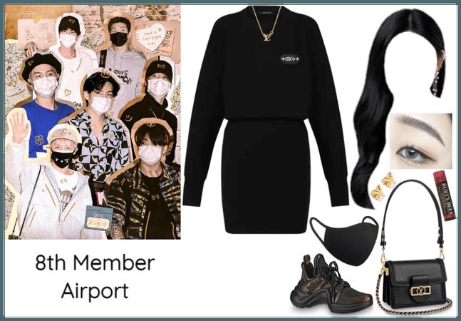 8th Member of BTS Airport
