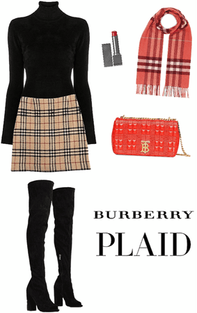 Burberry Plaid Look for Fall