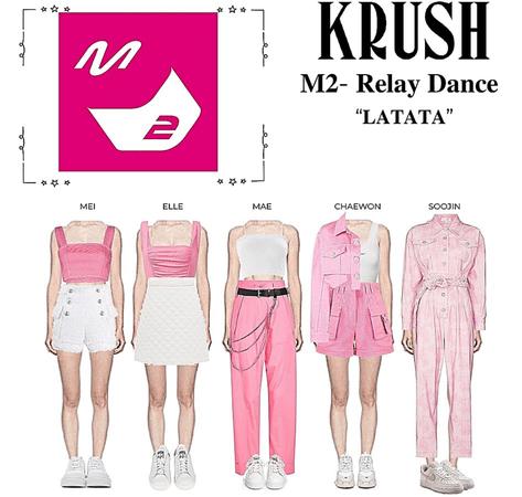 """KRUSH M2 Relay Dance """"LATATA"""""""