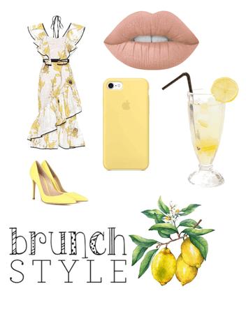 lemon brunch🍋