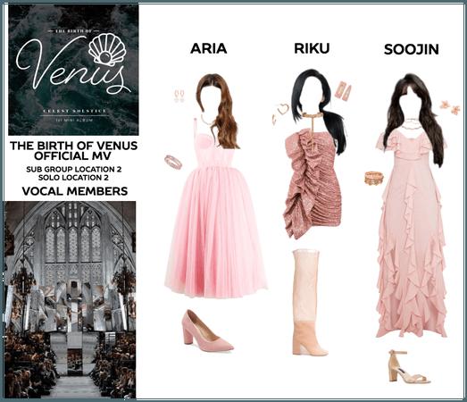 THE BIRTH OF VENUS - Sub Group 1 & Solo Shots 2