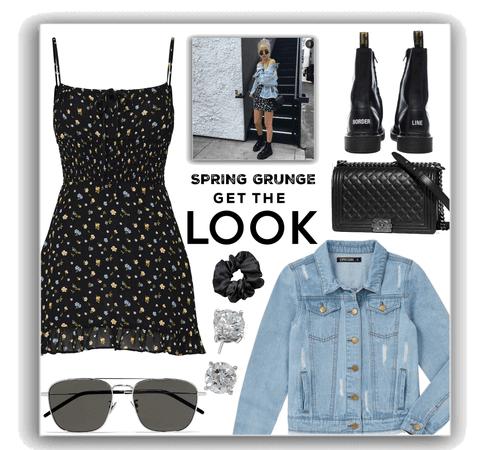 spring grunge style.