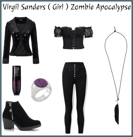 Virgil Sanders ( Girl ) Zombie Apocalypse