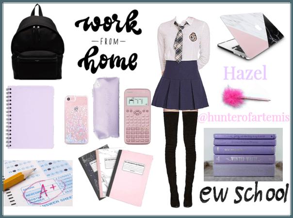 s c h o o l | #school | Hazel @hunterofartemis