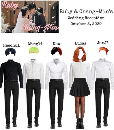 Shadow at Ruby & Chang-Min Wedding Reception