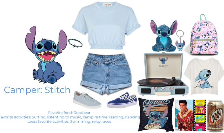 Camper: Stitch