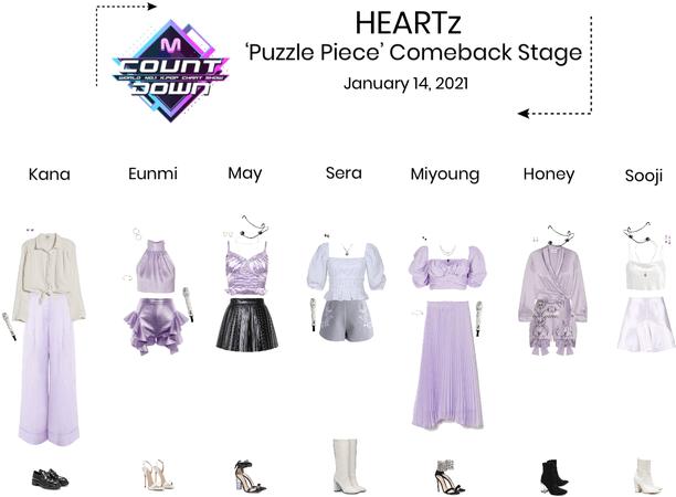 HEARTz//'Puzzle Piece' MCOUNTDOWN Comeback Stage