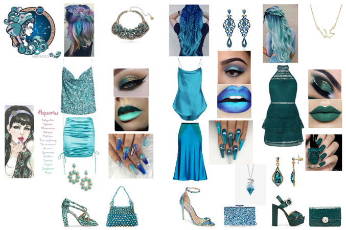 Fashion Aquarius ♒