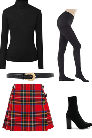 Sabrina (witch)  inspired outfit
