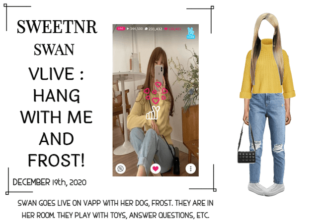 ~SWTNR~ VLIVE: HANG WITH ME AND FROST!