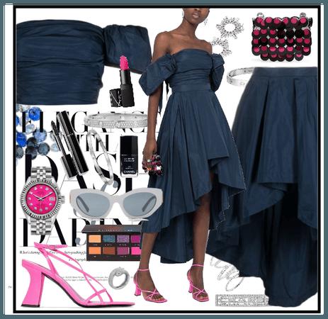 Pinko skirt and top