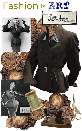 Fashion is Art-Appreciation of Lilli Ann