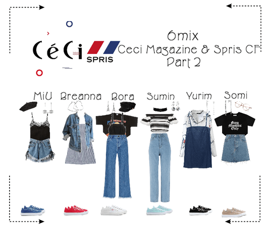 《6mix》Ceci Magazine & Spris CF