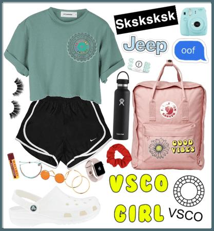 All Out Vsco Girl