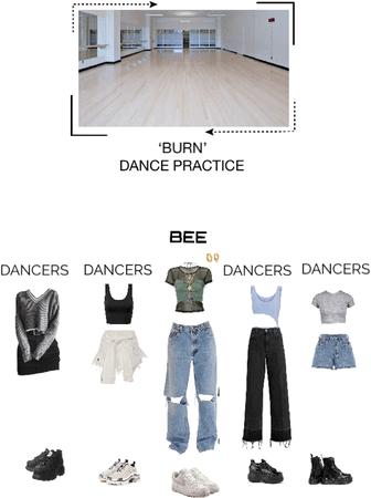 BEE (벌) 'BURN' DANCE PRACTICE