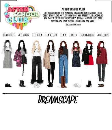 DREAMSCAPE [드림스게이프] After School Club 200122