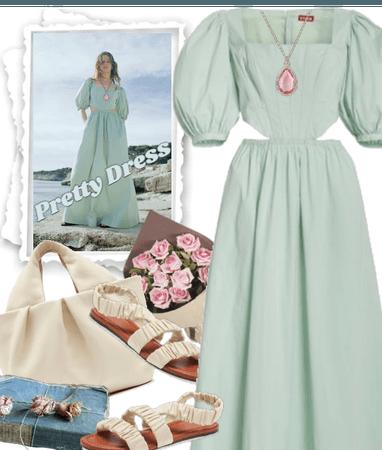 PRETTY STAUD DRESS