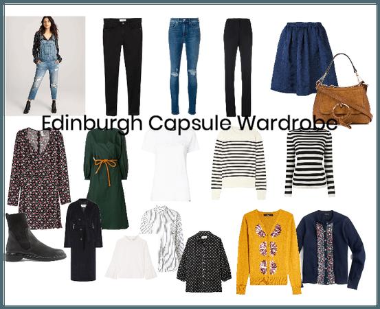 Edinburgh Capsule Wardrobe