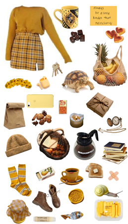 yellow hufflepuff