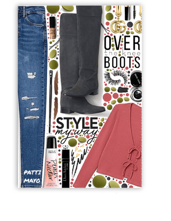 Knee Boots 🖤🖤🖤