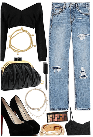 OUTFIT INSPIRATION: Dressy Jeans