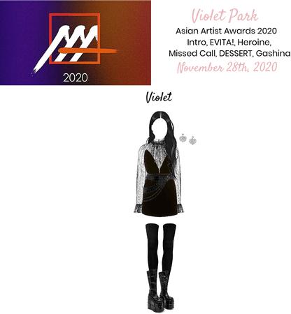 VioletPark _ Asian Artist Awards 2020