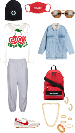 winter morning to go outfit