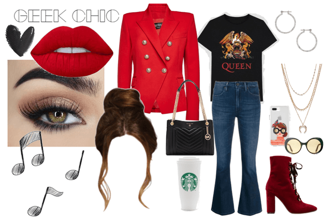 Geek Chic in Red