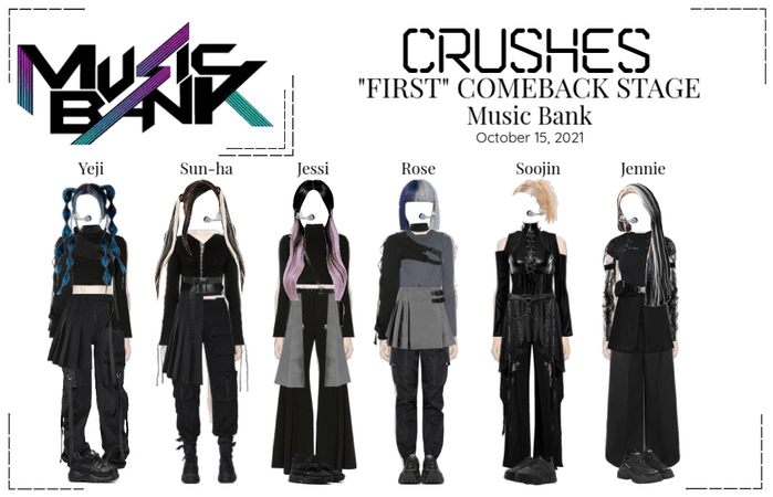 """Crushes (호감) - """"FIRST"""" COMEBACK STAGE"""