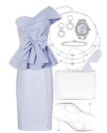 Favorite Color Combination: Blue and White