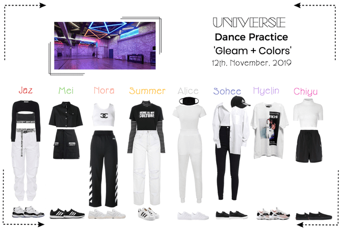UNIVERSE Dance Practice 'Gleam + Colors'