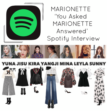 {MARIONETTE} Spotify Interview