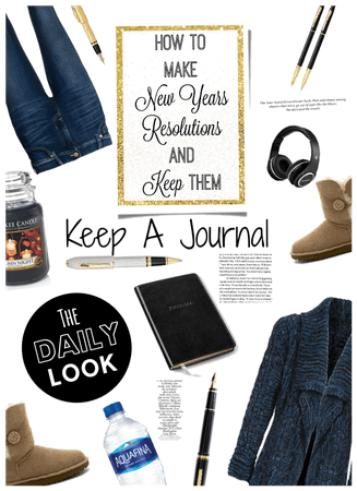 Daily Casual Cozy Style/At Home Journaling
