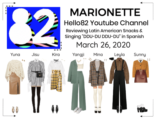MARIONETTE (마리오네트) Hello82 YouTube Channel Videos