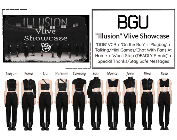 "BGU ""Illusion"" Vlive Showcase"