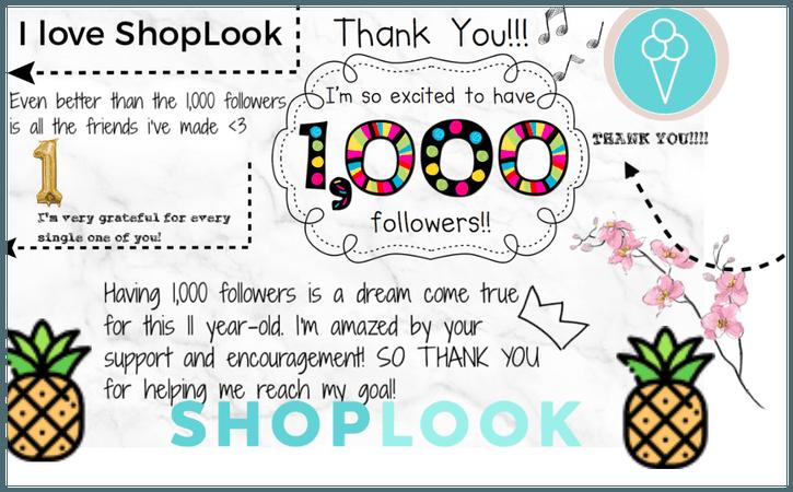 1000!!!!!!! EEKKK!! THANK YOU ALL SO MUCH!!!