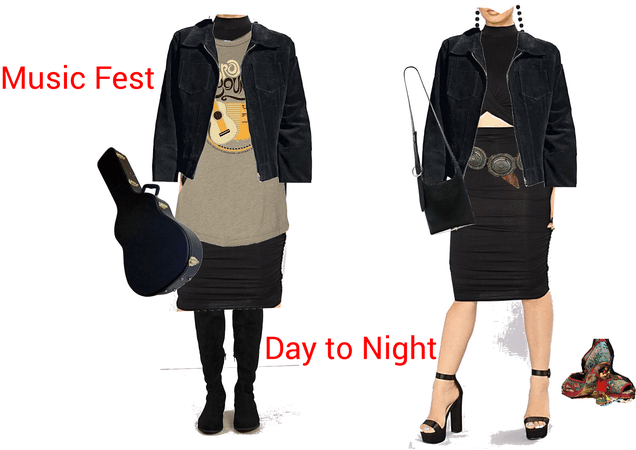 Music Fest Day to Night