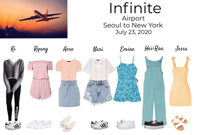 Infinite Travel Outfits