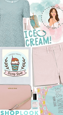 ShopLook ice cream!🤍