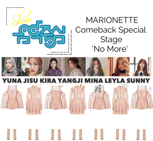 {MARIONETTE} Show! Music Core Comeback Special Stage