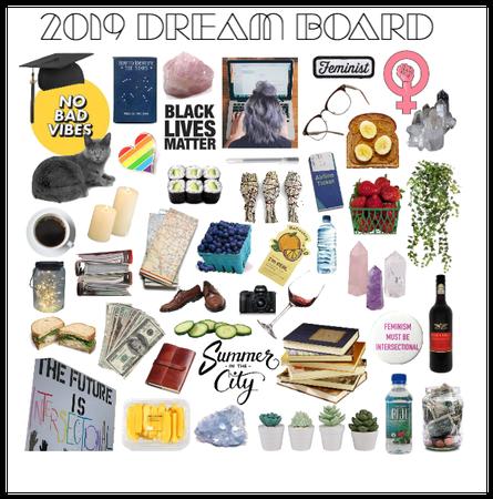 2019 dream board