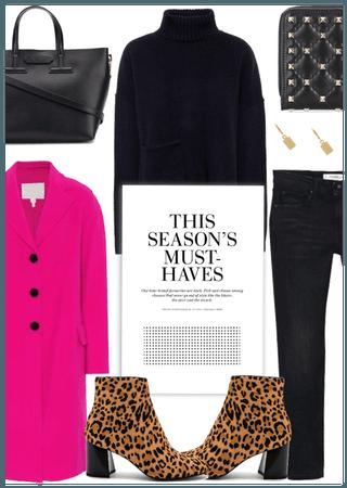 Get The Look: Hot Pink Coat