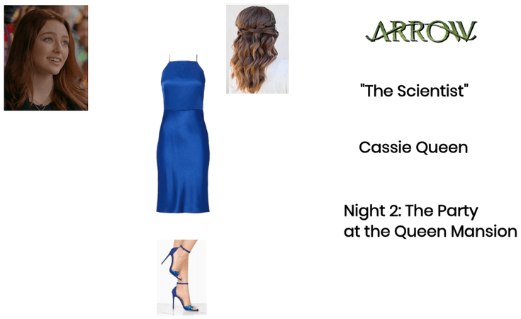 "Arrow: Cassie Queen: S2E8: ""The Scientist"""