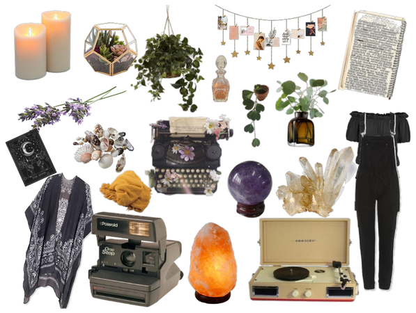 Aesthetic Wiccan Starter Pack