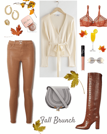 Fall brunch in the city