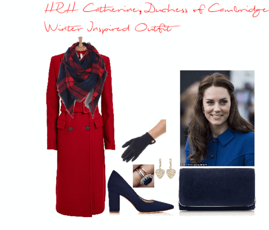 Her Royal Highness Catherine, Duchess of Cambridge Winter Inspired Outfit