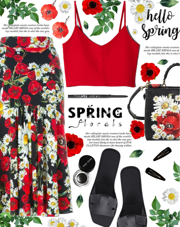 How To Style Florals With Dolce&Gabanna