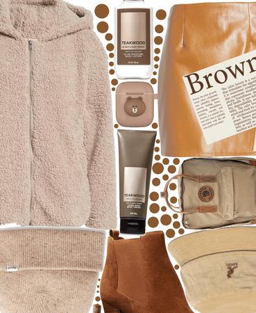 Brown is my fav color