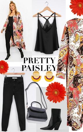 Printed Paisley